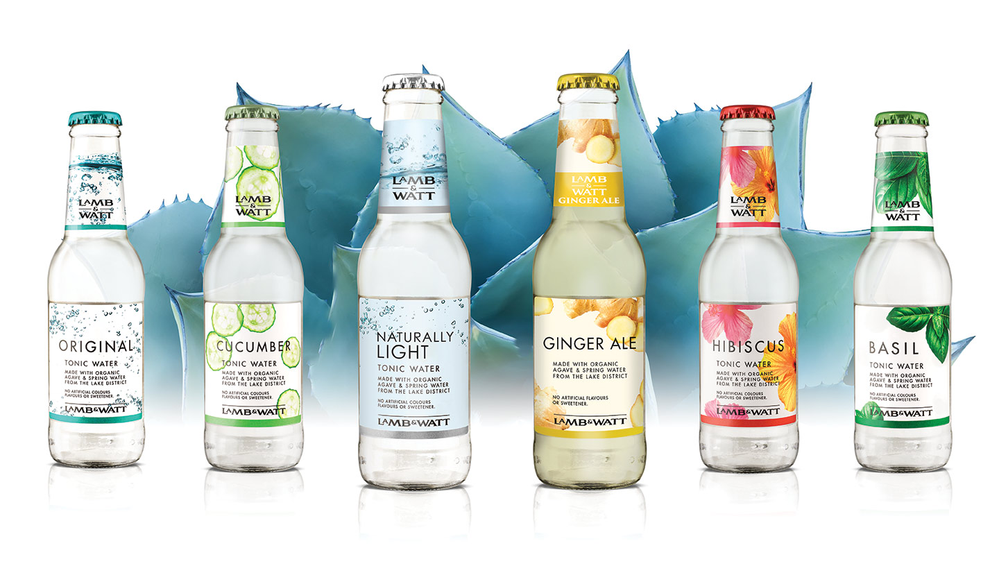 Lamb & Watt Full Range of tonics and mixers